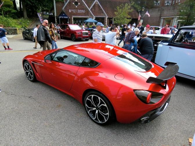 Aston Martin V12 Zagato at the Scarsdale Concours