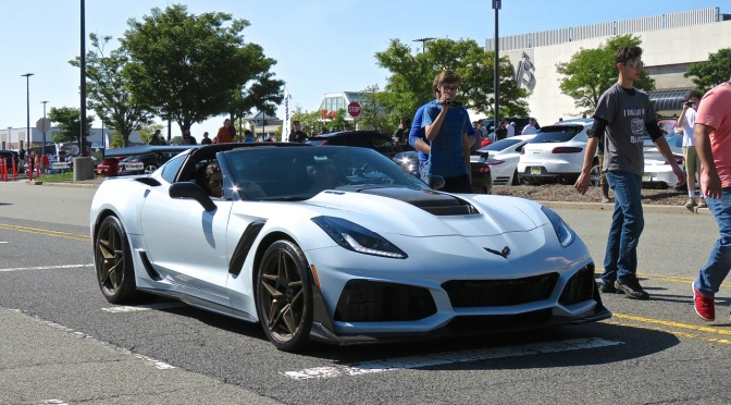 C7 Corvette ZR1 Spotted at Cars and Caffe