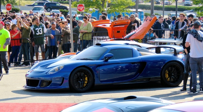 Gemballa Mirage GT at Cars and Caffe