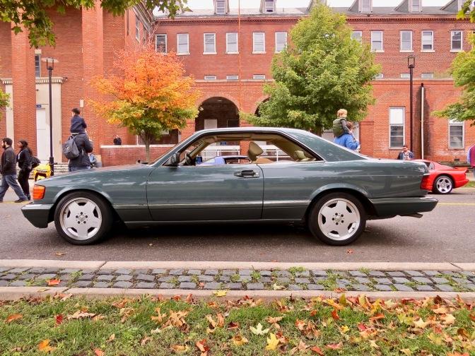 C126 Mercedes-Benz 560 SEC at Radwood Philly