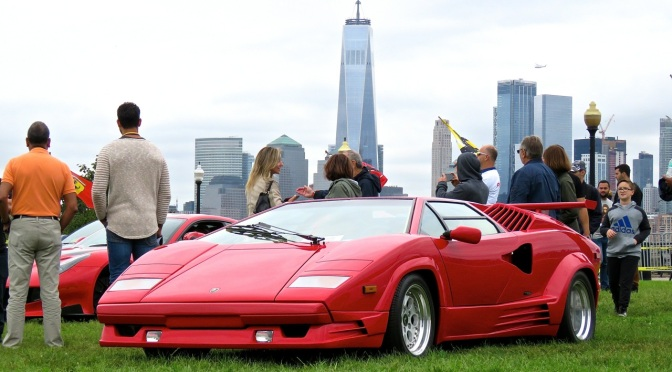 Lamborghini Countach 25th Anniversary Edition at Liberty State Park