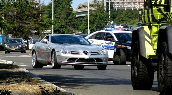 Mercedes SLR McLaren Spotted in Paramus, NJ
