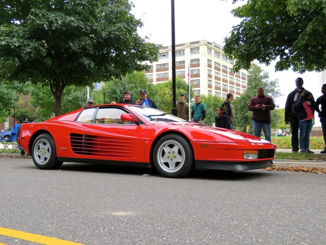 Ferrari Testarossa at Radwood Philly