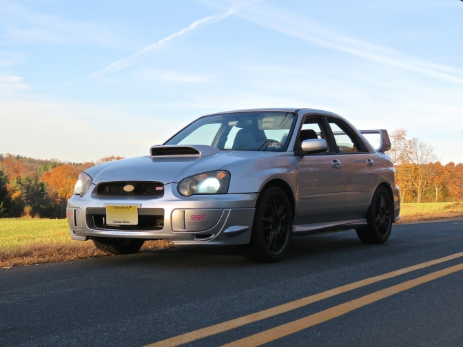 A Fall Drive in the STI