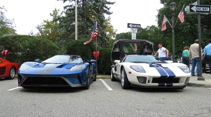 Ford GTs at the Scarsdale Concours