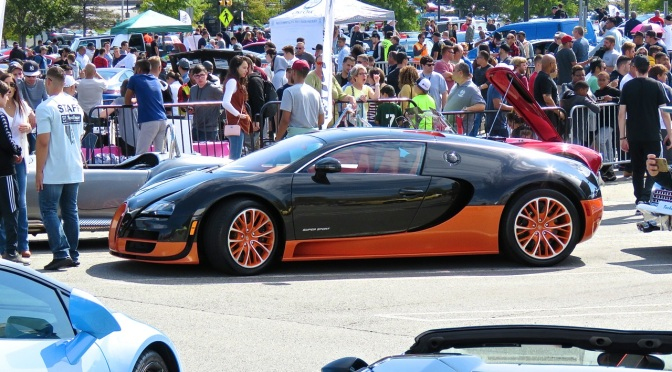 Bugatti Veyron Super Sport World Record Edition at Cars and Caffe