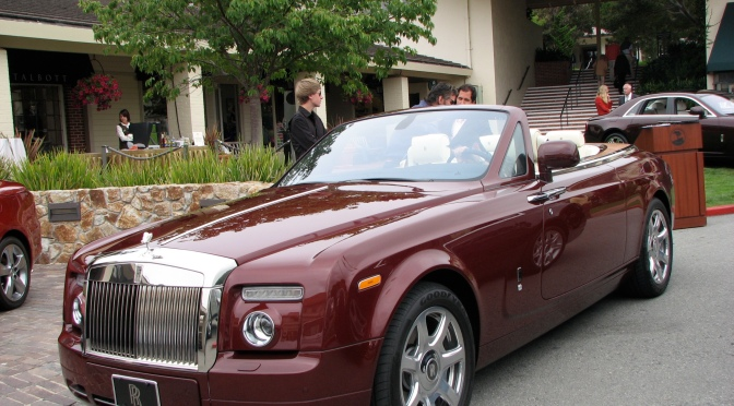 Our Proof of Concept was this Rolls Royce Phantom