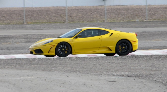 "A New Definition of ""Sharp"": Driving My First Ferrari"