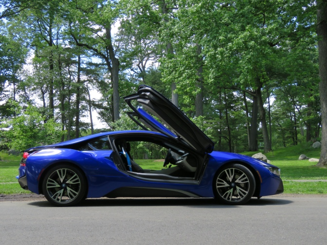 The BMW i8 is basically what the DeLorean would've been