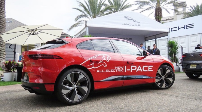Impressions from the Jaguar I-Pace
