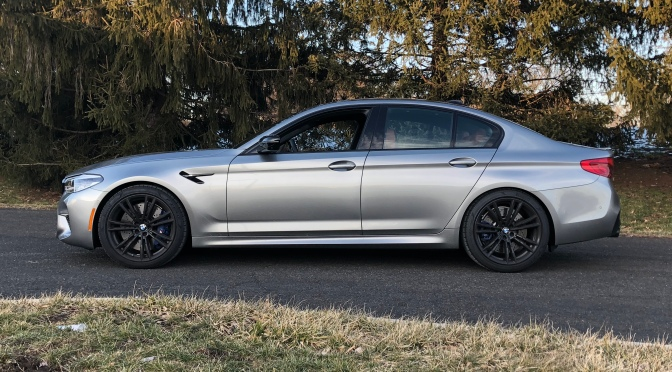 A Supercar with Massaging Seats, the BMW F90 M5